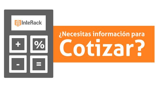 Necesitas información para cotizar